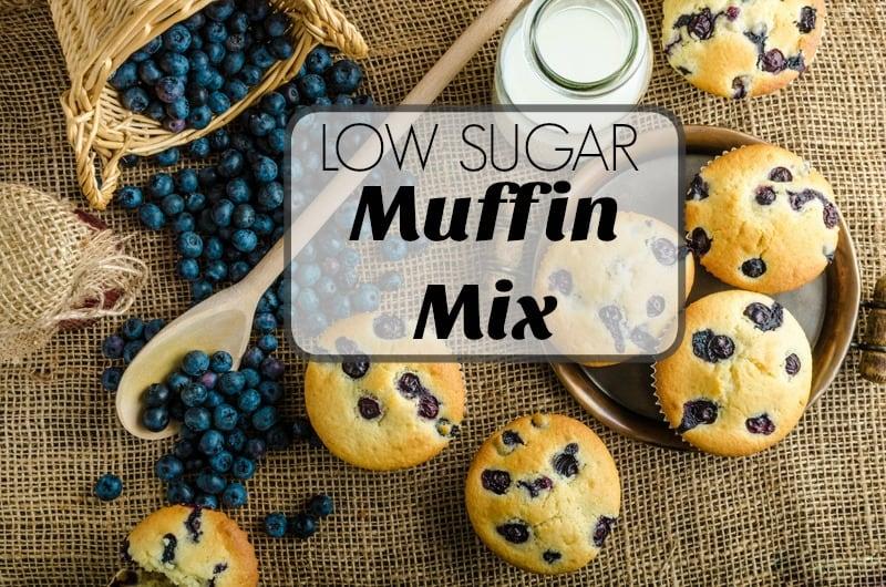 low sugar muffins