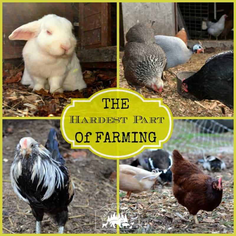 hardest part of farming