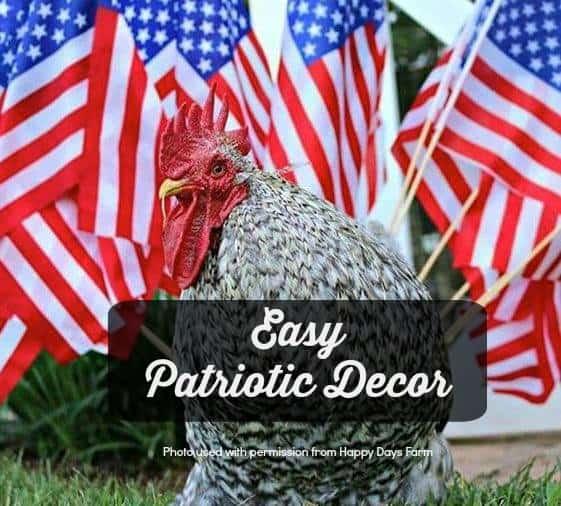 easy patriotic decor