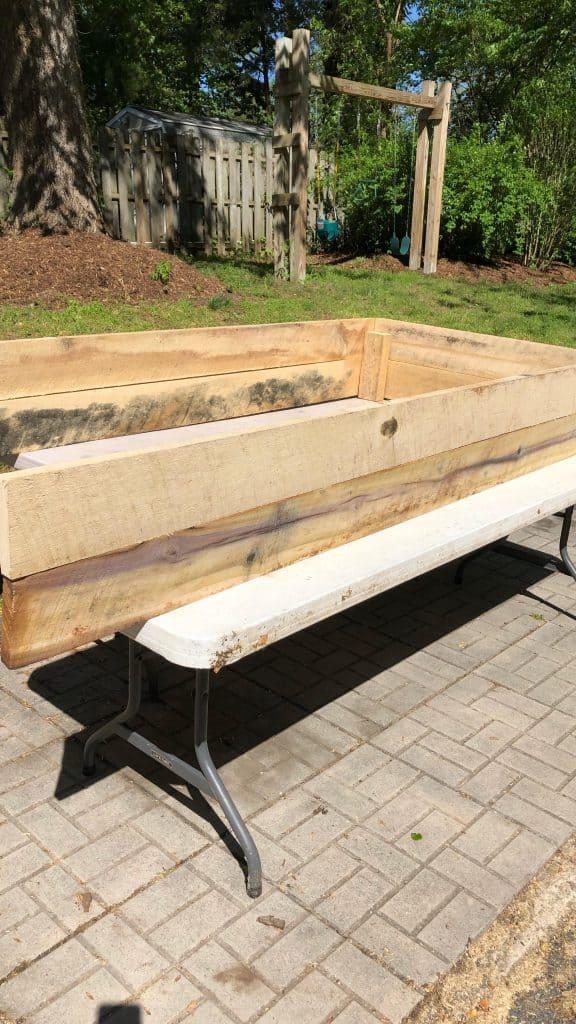 Build a raised bed garden